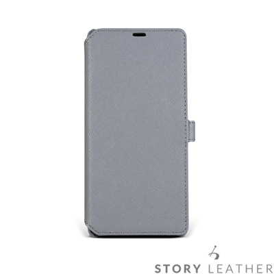 STORYLEATHER Note 8 Style-N83 硬殼式側翻  客製化...