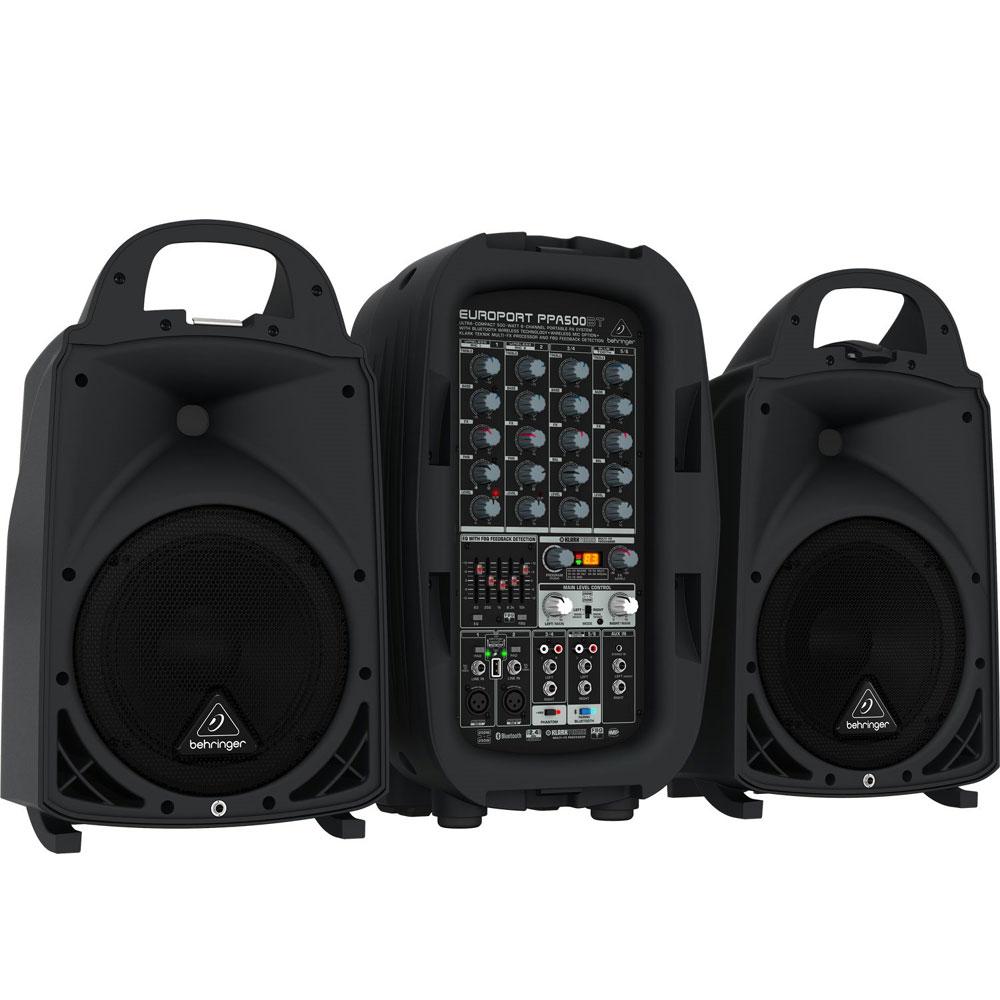 BEHRINGER PPA500BT 行動式喇叭系統