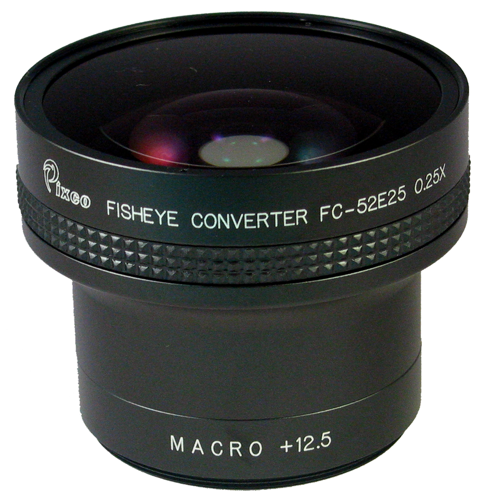 PIXCO 外接式0.25X魚眼鏡頭(口徑58mm)