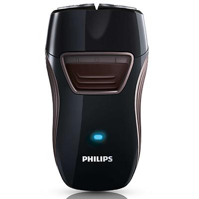 PHILIPS飛利浦雙刀頭充電式刮鬍刀-PQ210