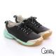 Comphy 3D奈米系列 真皮透氣雙色綁帶拼接氣動鞋 黑色 product thumbnail 1