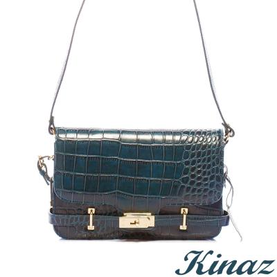 KINAZ - Rhapsody動物狂想曲系列~衝突自我斜揹包-輕柔藍