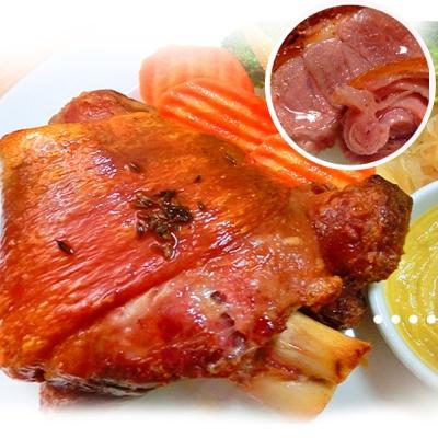 實驗廚房 去骨豬腳切片-2入組(580g/入)