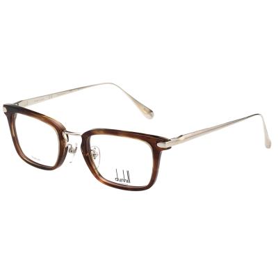 Dunhill 純鈦 光學眼鏡 (琥珀+銀色)VDH039