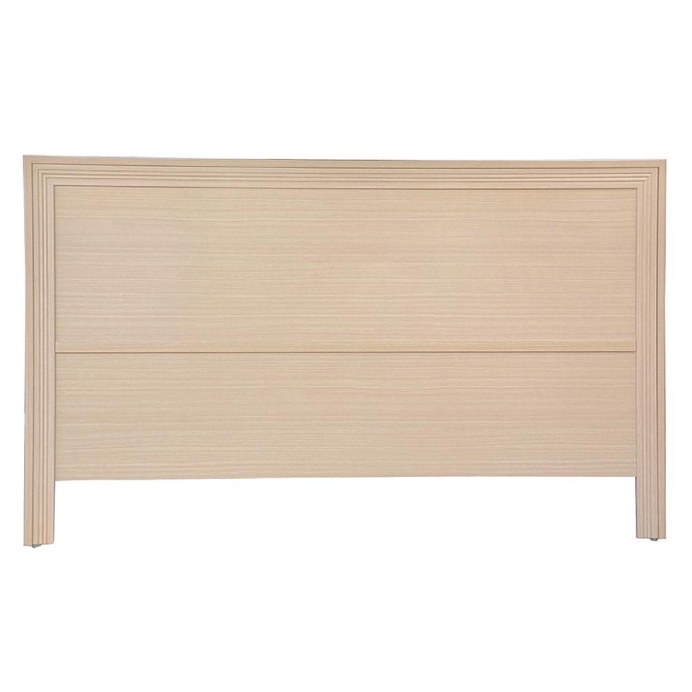 AS-奧斯卡5尺洗白床頭片-154x5x93cm