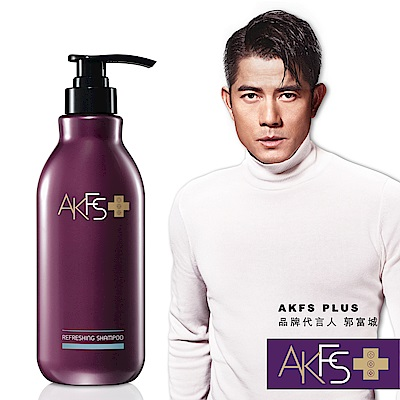 AKFS PLUS 清爽控油洗髮露400ml
