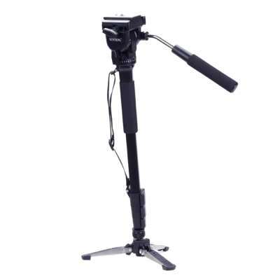 攝影機單腳架+液壓雲台套組-鋁合金(VCT-288)-快