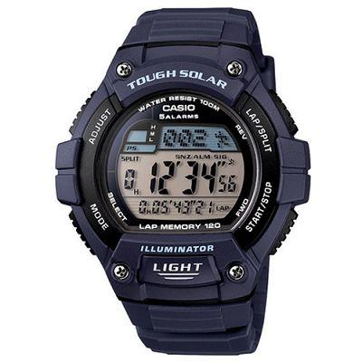 CASIO 陽光遊俠全方位電子運動錶(W-S220-2A)-深藍色/49mm