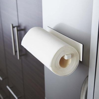 【YAMAZAKI】Plate磁吸式廚房紙巾架★毛巾架/廚房收納/餐廚收納/居家收納