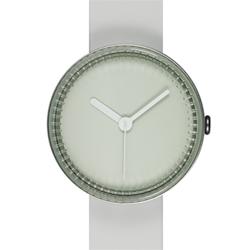 NAVA DESIGN 夢幻瓶罐個性腕錶-白灰/40mm
