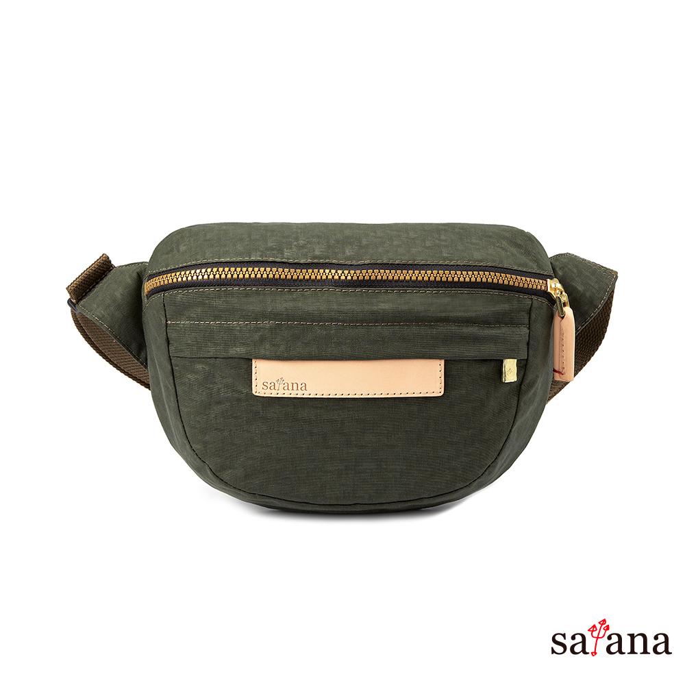 satana - 拼接腰包/斜肩包 - 午夜森林