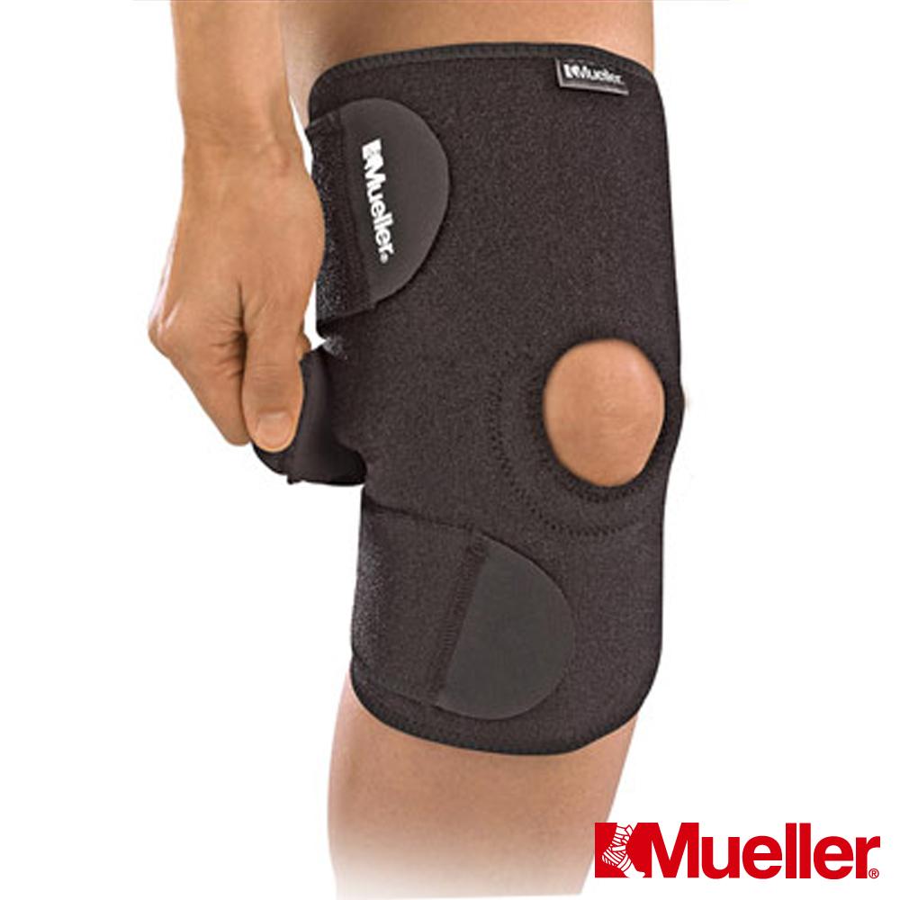 MUELLER慕樂 醫療型Neoprene髕骨開放式護具 黑 護膝(MUA6426)