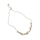 JewCas Fleur系列花朵棉珍珠項鍊_JC2601