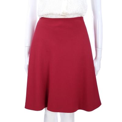 PHILOSOPHY-AF 桃紫色素面及膝裙