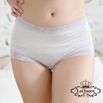 內褲  高質感蠶絲親膚內褲-灰 La Queen
