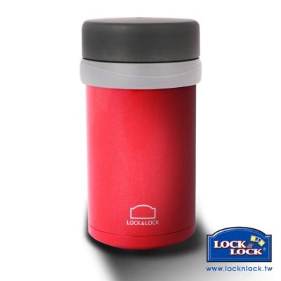 樂扣樂扣 雙層真空不鏽鋼悶燒罐-500ML紅