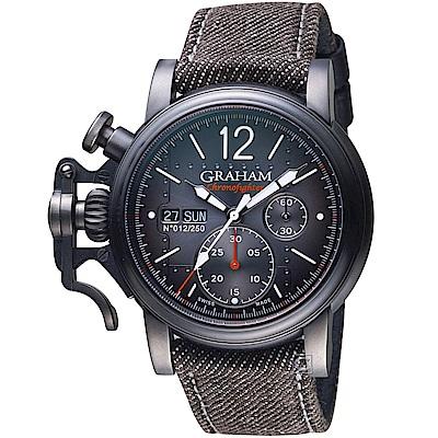 GRAHAM Chronofighter復古飛行限量腕錶(2CVAV.B19A.T39T)
