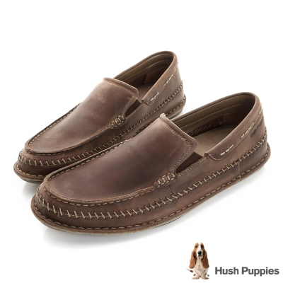 Hush Puppies MALACHY 直套式便鞋-咖啡色
