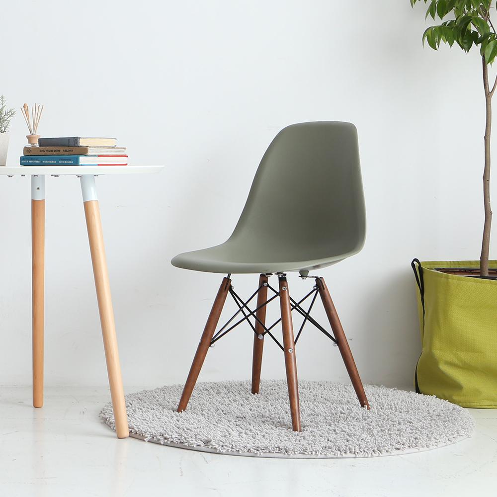 MODERN DECO Eames伊姆斯復刻款胡桃腳餐椅-多色選