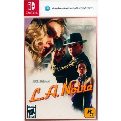 黑色洛城 L.A.Noire - Nintendo Switch 英文美版