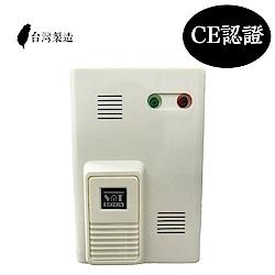 【防災專家】台灣製造住宅用瓦斯偵測器 CE認證 壁掛式瓦斯警報器