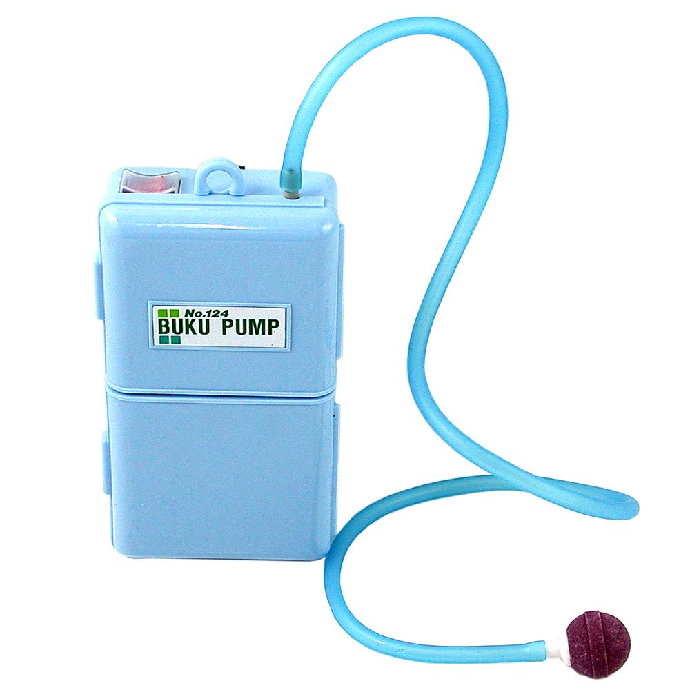 《水族先生》攜帶型戶外垂釣用電池動力單孔打氣機(送矽膠軟管)