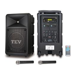 TEV CD/USB/SD雙頻無線擴音機 TA680iC-2