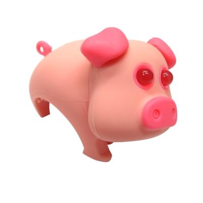 ZOONIMAL 可愛動物LED單車用前燈 粉紅豬