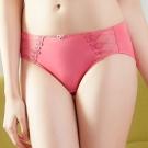 推EASY SHOP-浪漫挪威 中腰三角褲(甜桃粉)