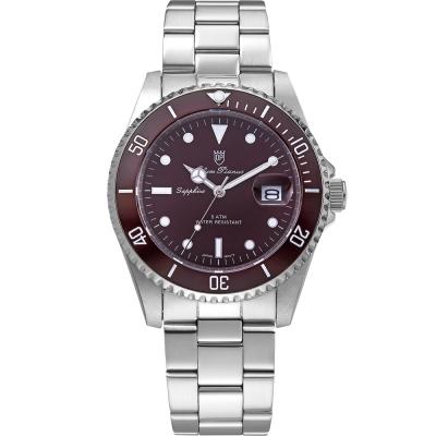 奧柏表 Olym Pianus 典藏風采石英腕錶~咖啡 899831MS