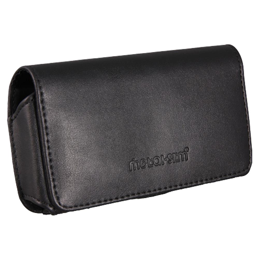 Metal-Slim Apple IPHONE 5/5S/SE PU材質 腰掛皮套