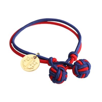 PAUL HEWITT 德國出品 Knot 藍紅繩結手環