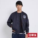 EDWIN 太空競賽MA1鋪棉外套-男-丈青