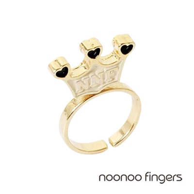 Noonoo Fingers Standing Crown Ring 直立皇冠 戒指