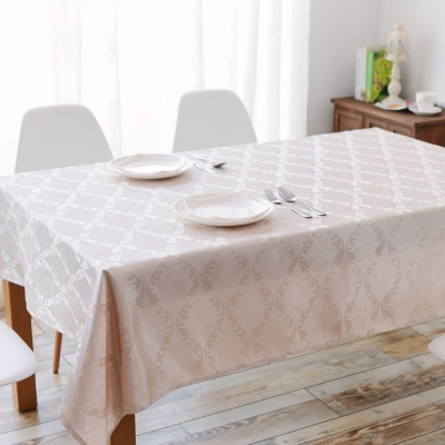 伊美居 - 桂冠防潑水桌巾 140cmX195cm 1件