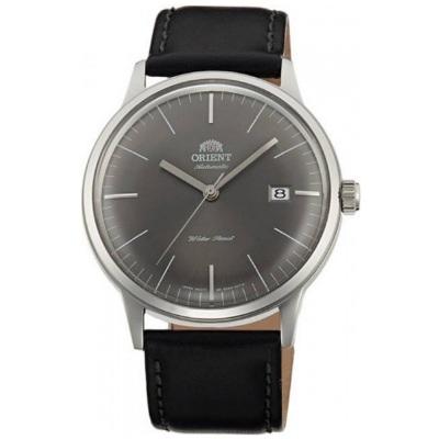 ORIENT 東方錶 復古巨蛋型球面玻璃 機械錶-灰/42mm