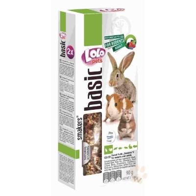 LoLo 鼠兔棒棒糖( 野莓)90g 2入