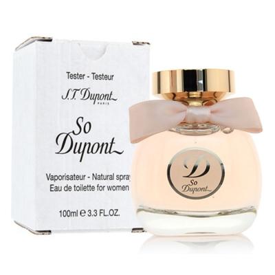 S.T. DUPONT都彭 巴黎謎情女性淡香水100ml (Tester包裝)原價4200