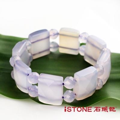 石頭記 紫玉髓版型手鍊-紫氣東來