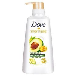 DOVE 多芬 強韌植萃洗髮乳 酪梨精華 500ml