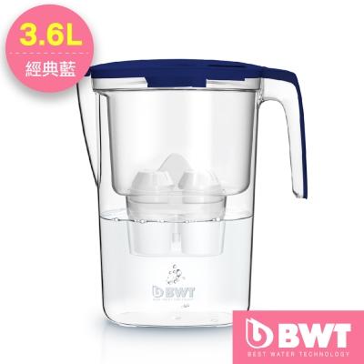 BWT德國倍世 Mg2+鎂離子濾水壺3.6L(二色任選)(內含4周濾芯*1)