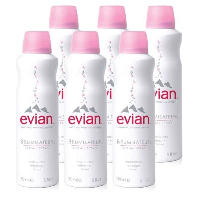 *Evian愛維養 護膚礦泉噴霧 150ml *6入 (輕團購)