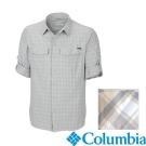 Columbia-長袖防曬30快排襯衫-男-灰色-UAM74410GY