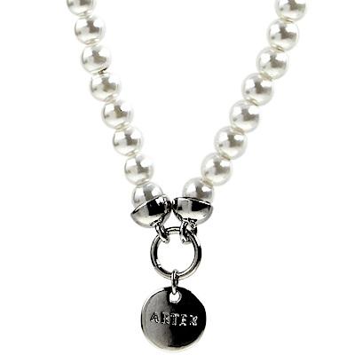 ARTEX accessory鬆緊手鍊 白珍珠
