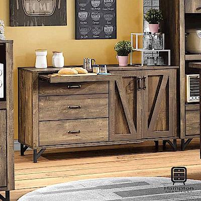 漢妮Hampton克勞德系列工業風5尺餐櫃-152x46x84cm