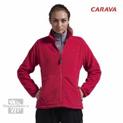 CARAVA 《女款保暖刷毛外套》