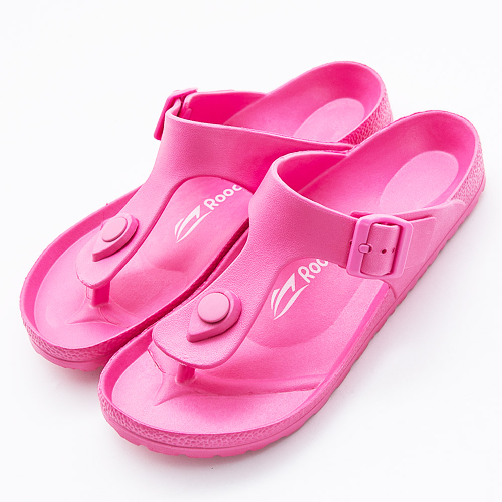 Roadpacer-女休閒拖鞋BS021PIK-桃紅