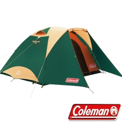 Coleman 27278_3025綠 4-5人Tough圓頂帳篷