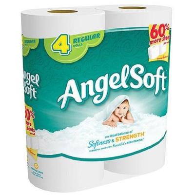 Angel Soft 捲筒衛生紙 132張x4捲/串