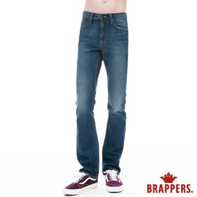 BRAPPERS 男款 HM中腰系列-男用直統褲-藍